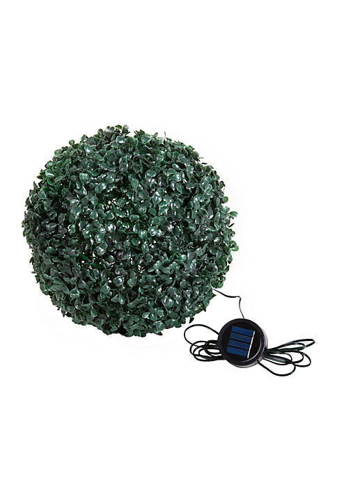 Pure Garden Topiary Solar Light Ball