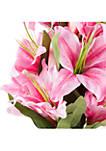 Tall Lily Artificial Floral Arrangement