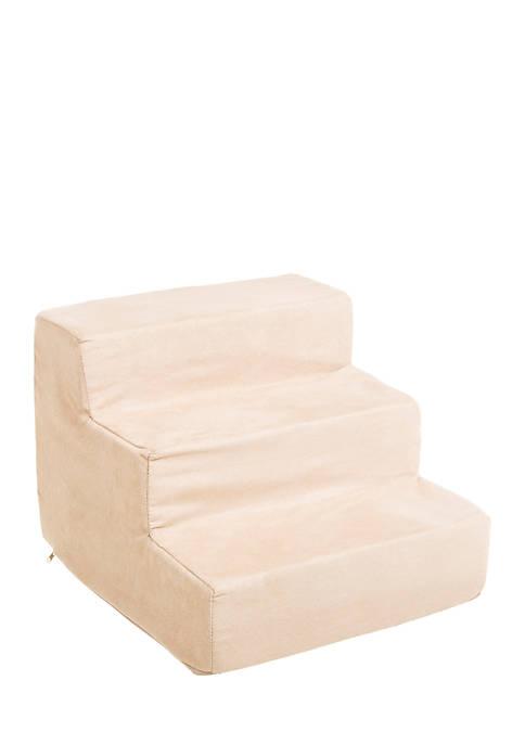 High Density Foam 3 Tier Pet Steps
