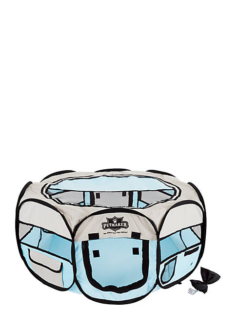 Petmaker Portable Pop Up Play Pin-Blue