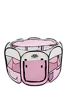 Petmaker Portable Pop-Up Play Pen- Pink