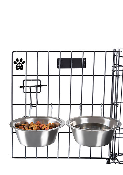 Petmaker Stainless Steel Hanging Pet Bowls