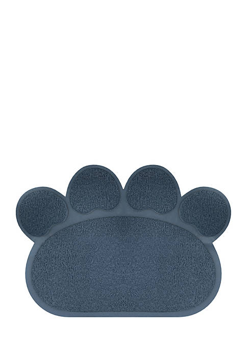 Petmaker Non-Slip Paw Shaped Food And Litter Mat