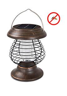 Wakeman Solar Power UV Mosquito Killer Zapper LED Lantern