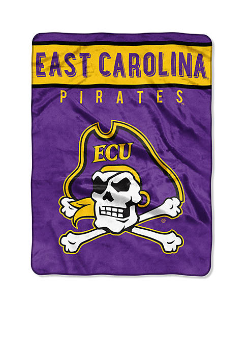 Northwest East Carolina Pirates Royal Plush Raschel 60