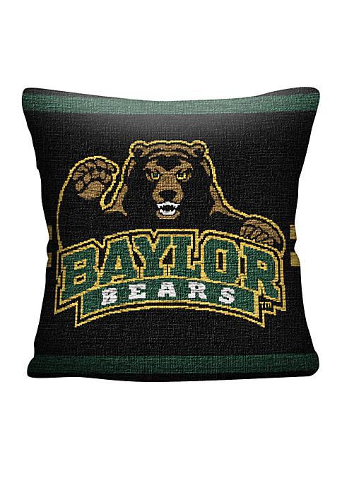 Baylor Bears Jacquard Pillow