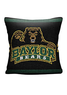 Baylor Bears Jacquard Pillow