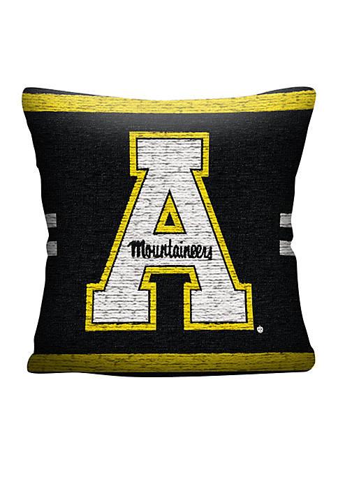 Northwest Appalachian State Mountaineers Jacquard Pillow