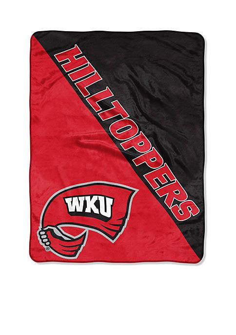 Western Kentucky Hilltoppers Micro Raschel Throw