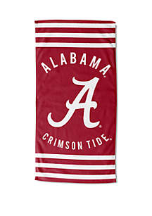 Northwest Alabama Crimson Tide Stripe Beach Towel