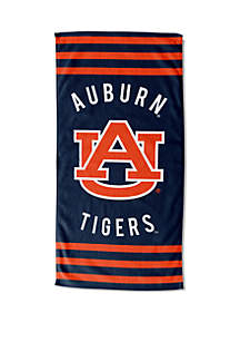 Northwest Auburn Tigers Striped Beach Towel