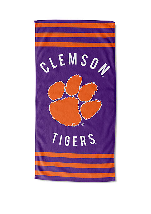 Northwest Clemson Tigers Stripe Beach Towel Belk