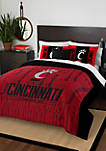 NCAA Cincinnati Bearcats Modern Take Comforter Set