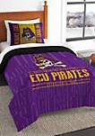 NCAA ECU Pirates Modern Take Twin Comforter Set