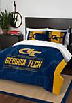 NCAA Georgia Tech Yellow Jackets Modern Take Comforter Set