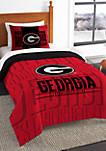NCAA Georgia Bulldogs Modern Take Comforter Set