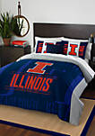 NCAA Illinois Fighting Illini Modern Take Comforter Set