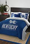 NCAA Kentucky Wildcats Modern Take Comforter Set