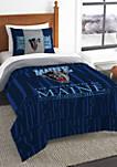 NCAA Maine Black Bears Modern Take Comforter Set