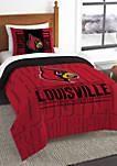 NCAA Louisville Cardinals Modern Take Comforter Set