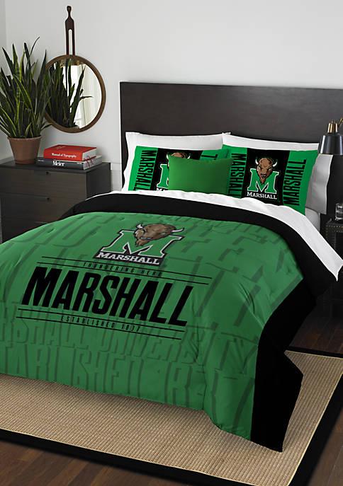 NCAA Marshall Thundering Herd Modern Take Comforter Set