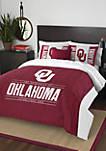 NCAA Oklahoma Sooners Modern Take Comforter Set