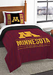 NCAA Minnesota Golden Gophers Modern Take Comforter Set