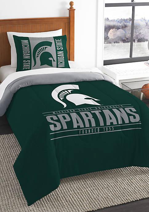 NCAA Michigan State Spartans Modern Take Comforter Set