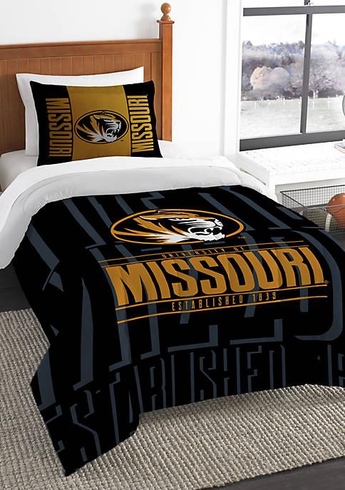 NCAA Missouri Tigers Modern Take Comforter Set