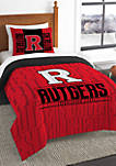 NCAA Rutgers Scarlet Knights Modern Take Comforter Set