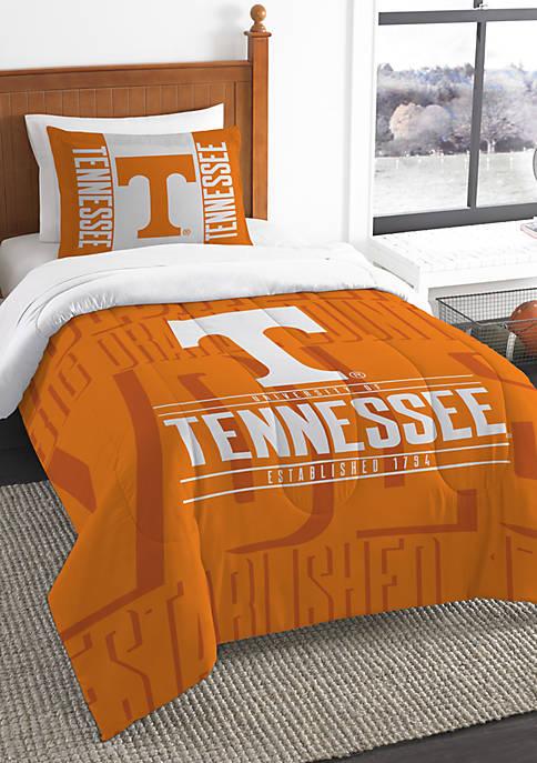 NCAA Tennessee Volunteers Modern Take Comforter Set