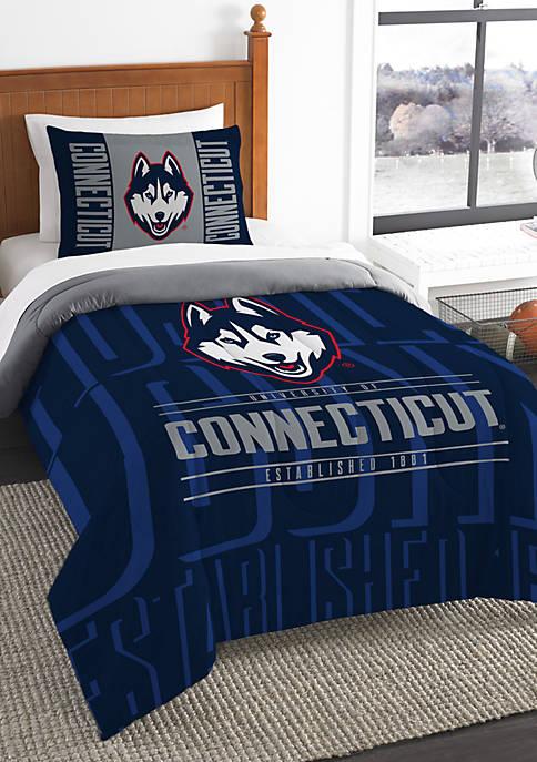 NCAA UConn Huskies Modern Take Comforter Set
