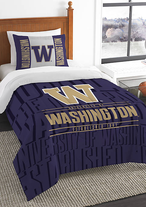 NCAA Washington Huskies Modern Take Comforter Set