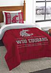 NCAA Washington State Cougars Modern Take Comforter Set