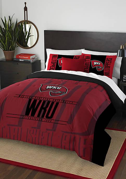NCAA Western Kentucky Hilltoppers Modern Take Comforter Set