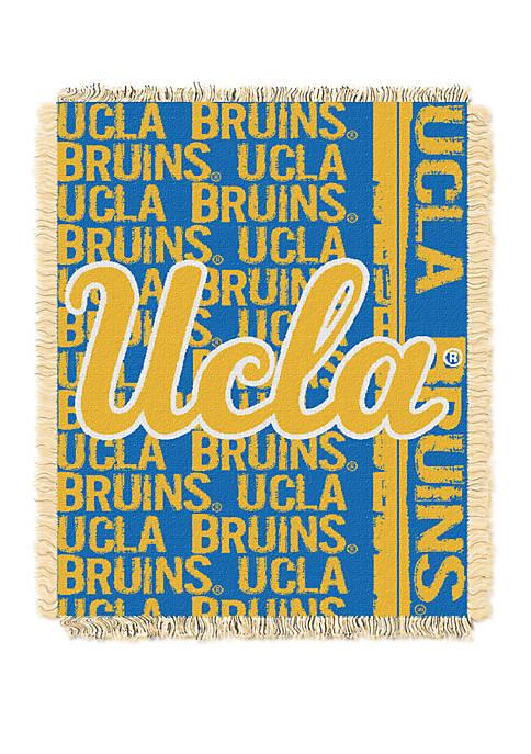 NCAA UCLA Bruins Double Play Jacquard Woven Throw