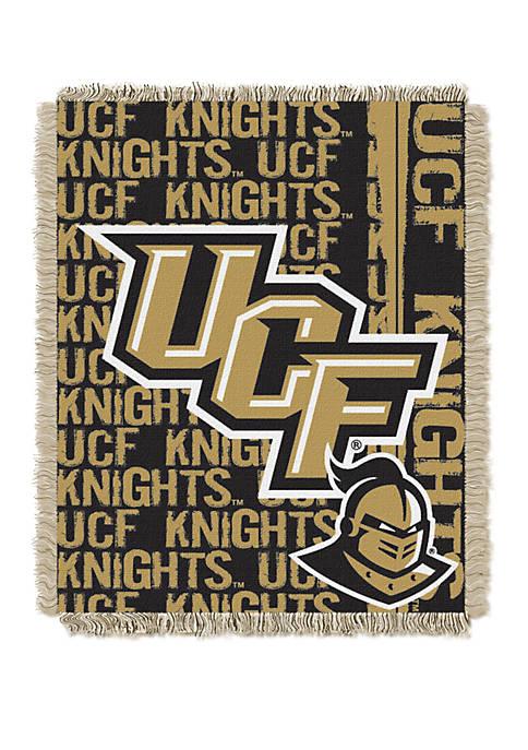 NCAA Central Florida Knights Double Play Jacquard Woven Throw