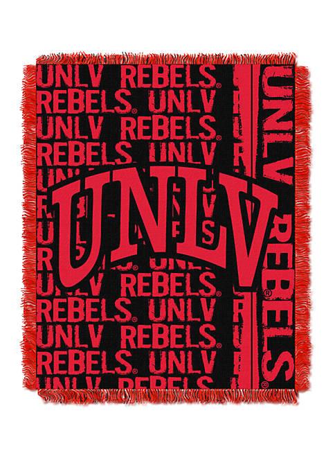NCAA UNLV Rebels Double Play Jacquard Woven Throw