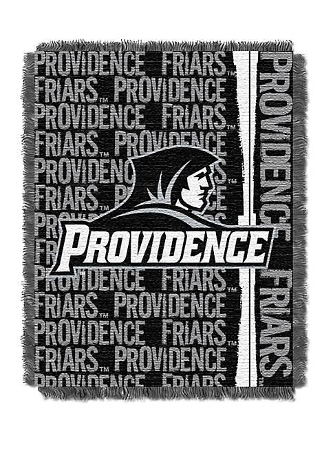 NCAA Providence Friars Double Play Jacquard Woven Throw