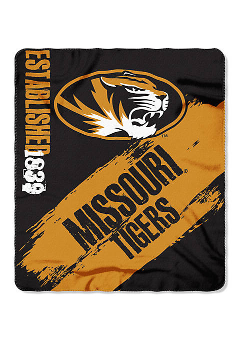 The Northwest Company NCAA Missouri Tigers Painted Fleece