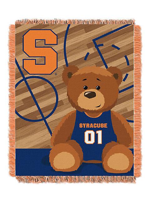 NCAA Syracuse Orange Baby Fullback Woven Jacquard Throw
