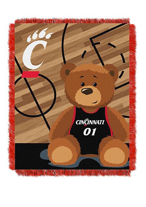 NCAA Cincinnati Bearcats Baby Fullback Woven Jacquard Throw