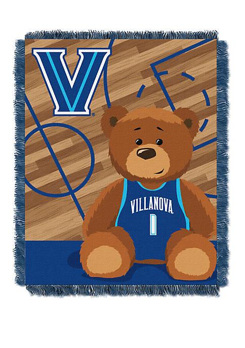 NCAA Villanova Wildcats Baby Fullback Woven Jacquard Throw