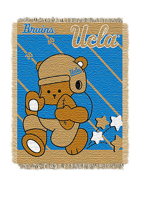 NCAA UCLA Bruins Baby Fullback Woven Jacquard Throw