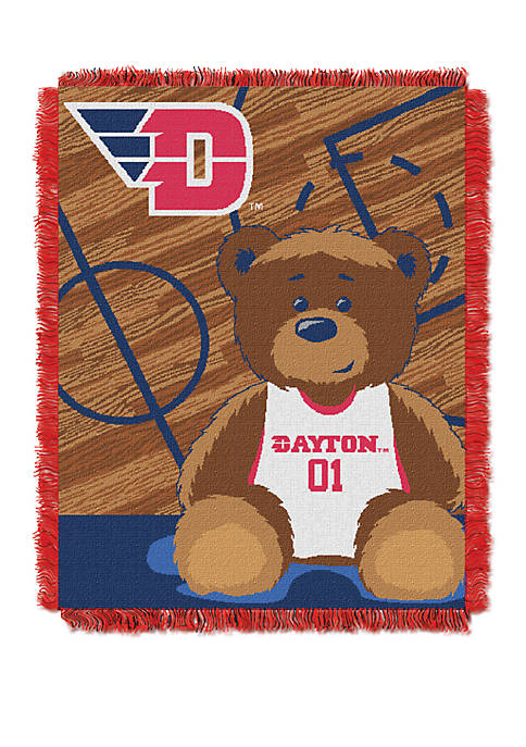 NCAA Dayton Flyers Baby Fullback Woven Jacquard Throw