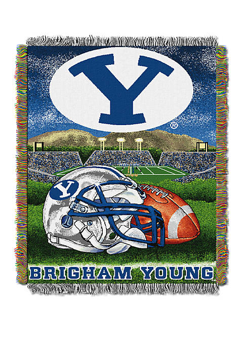 NCAA BYU Cougars Home Field Advantage Tapestry Blanket