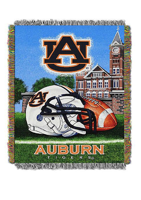 NCAA Auburn Tigers Home Field Advantage Tapestry Blanket