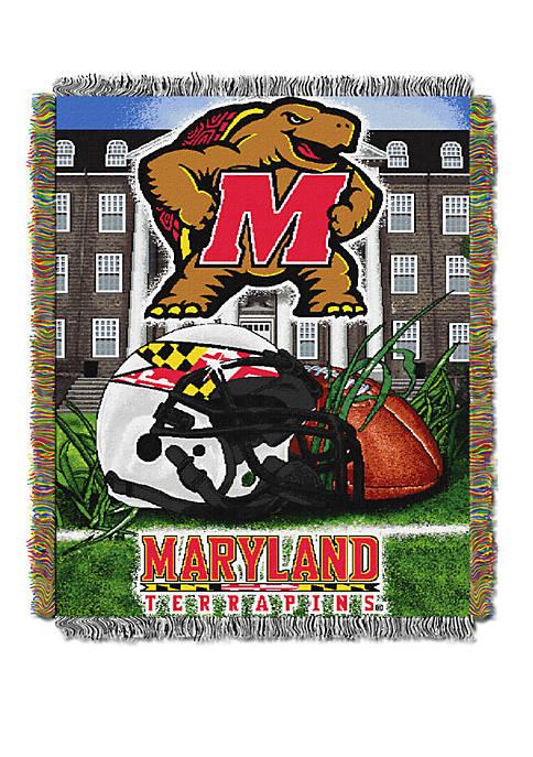 NCAA Maryland Terrapins Home Field Advantage Tapestry