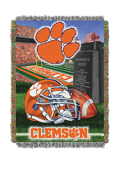 NCAA Clemson Tigers Home Field Advantage Tapestry