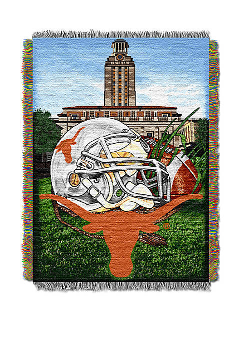NCAA Texas Longhorns Home Field Advantage Tapestry